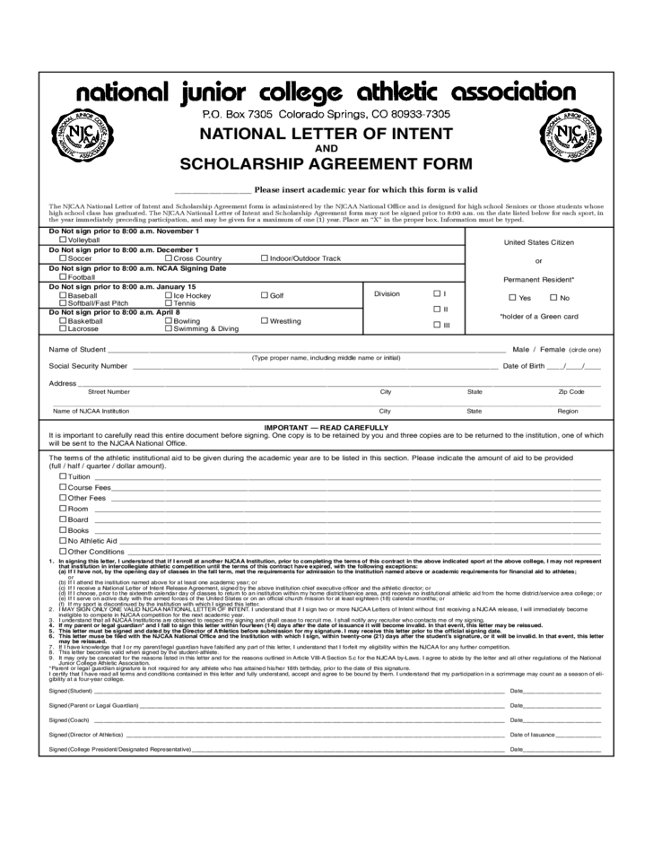 1 Template Lease Year Agreement