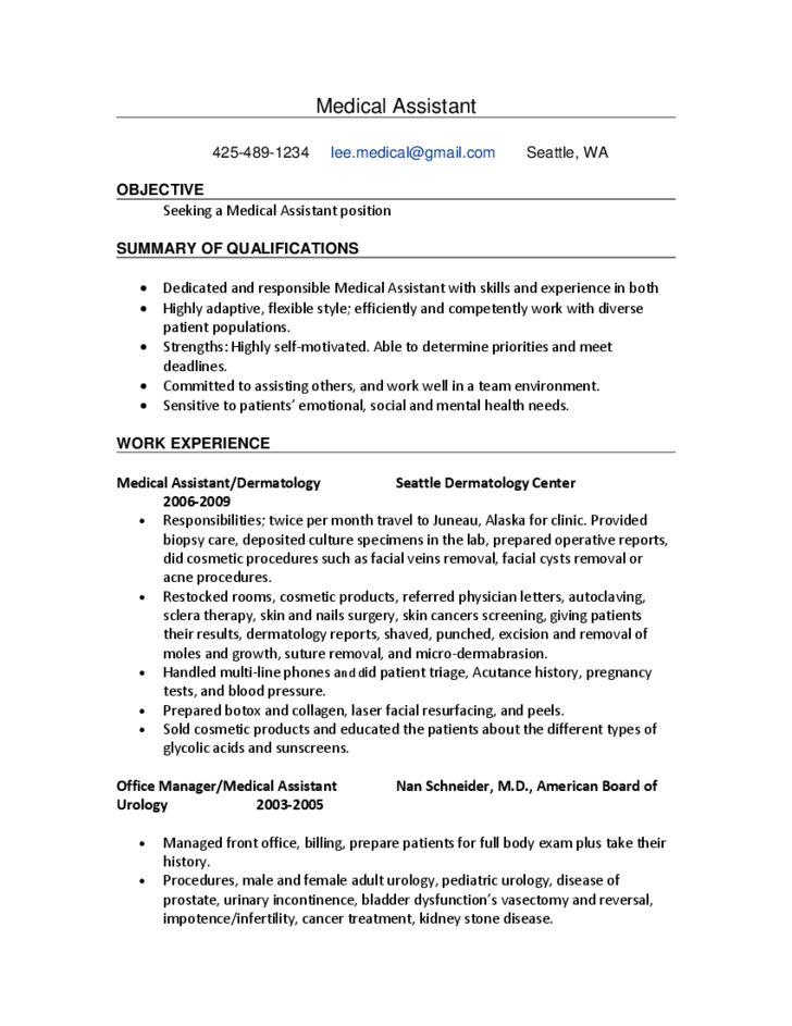 Office manager resume objective medical office assistant resume sample cover. Objective For Medical Office Assistant Resume Top 22 Medical Office Assistant Resume Objective Examples