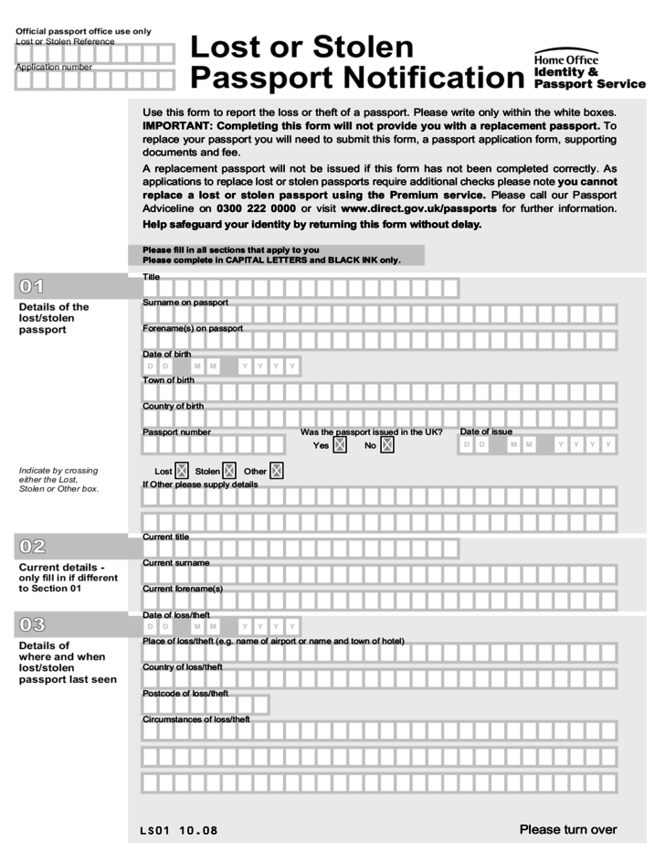 How To Fill In Passport Renewal Form Uk | How To
