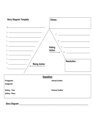 Plot Diagram Template  4 Free Templates in PDF, Word