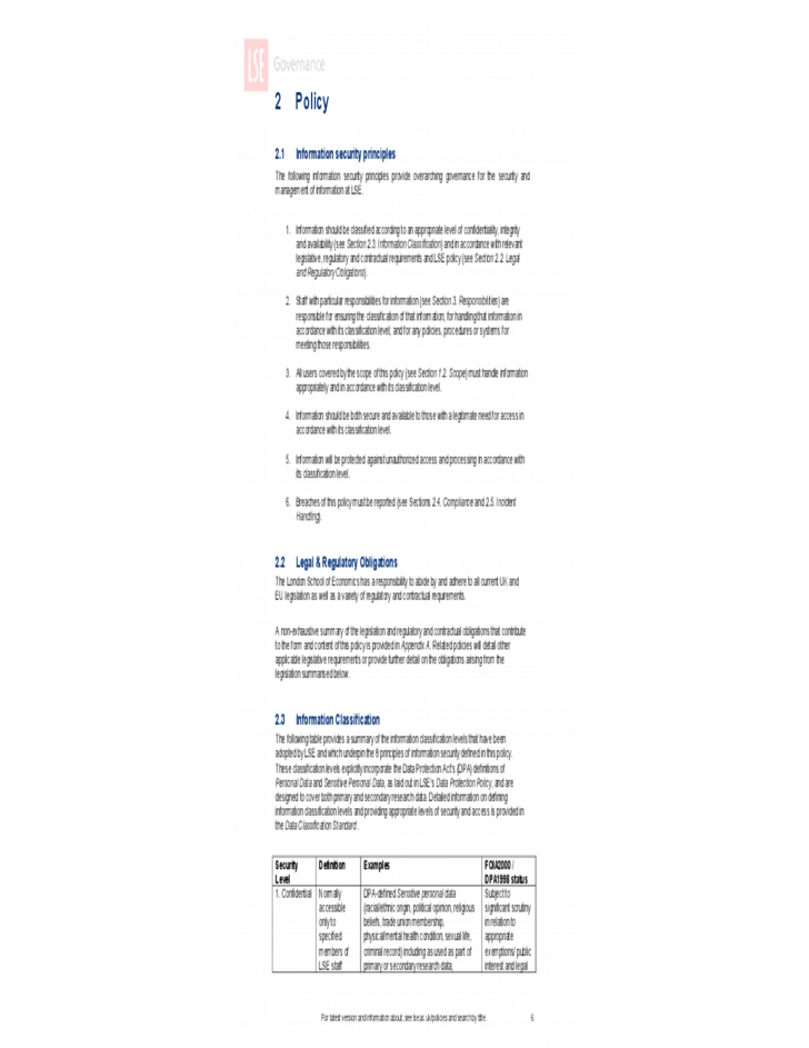 It Security Policy Template Uk