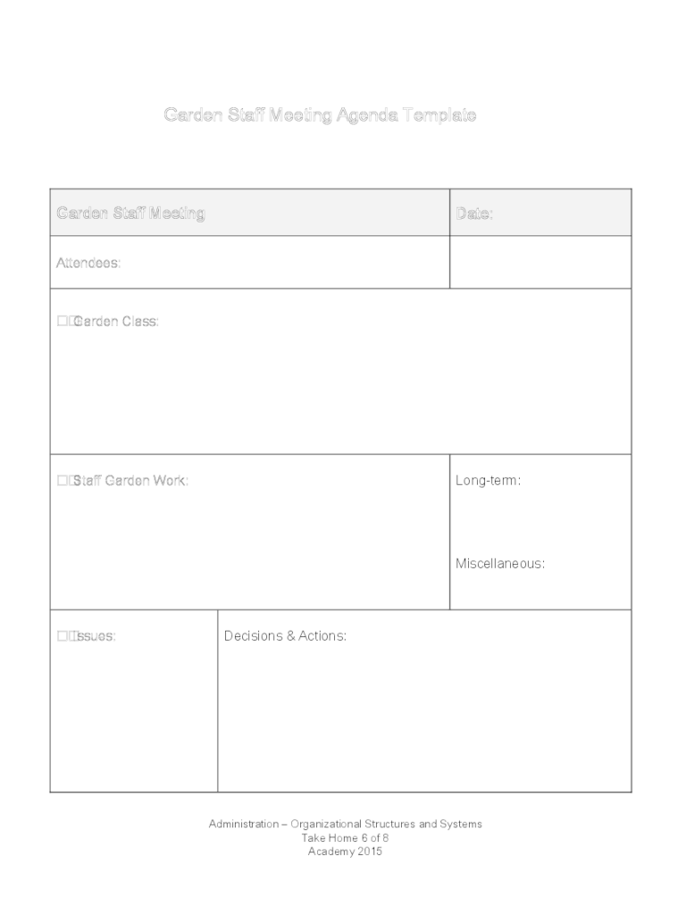 """""""awkward."""" """"disorganized."""" """"pointless."""" 1:1s produce countless negative feelings for even the most enthusiastic employees. Staff Meeting Agenda Template 2 Free Templates In Pdf Word Excel Download"""