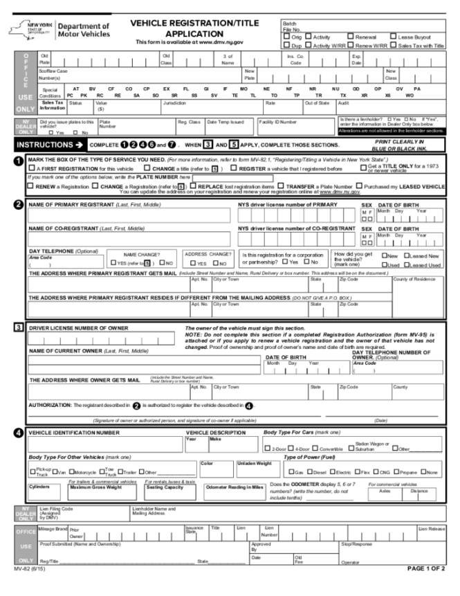 New york state car registration renewal fee 11