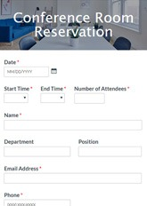 Need to change the meeting location or add a room? Conference Room Reservation Form Template Formsite
