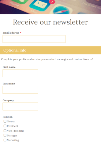 Newsletters are a great way to share important information and increase customer interaction. Order Form Templates Formsite