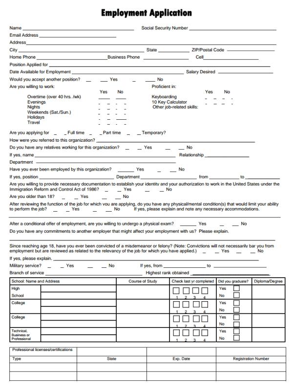 Virginia Women's Center Job Application