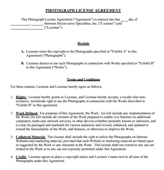 Photography Business Forms For Ideal Photography Business