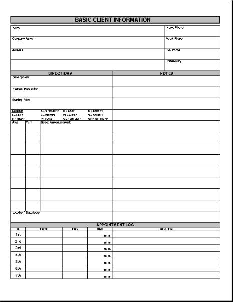 Business Forms Library