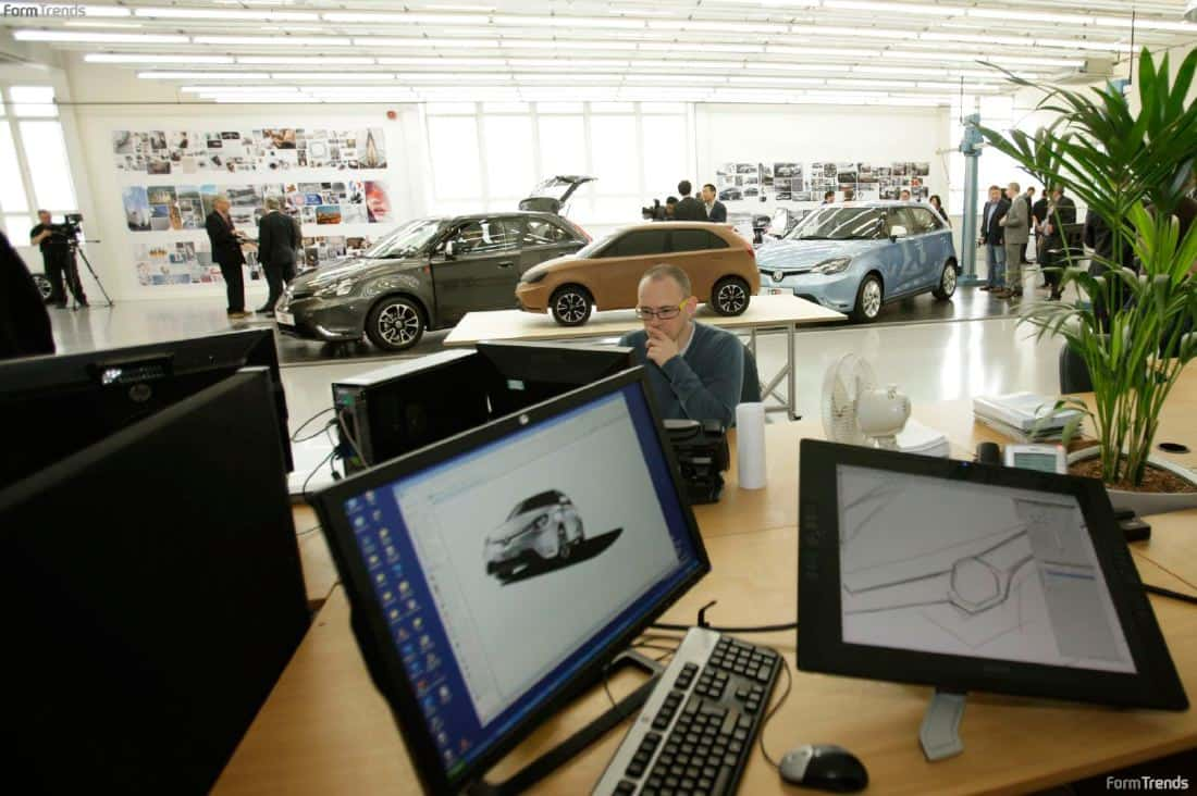 SAIC's Design Directors on the UK Design Center and the MG ...