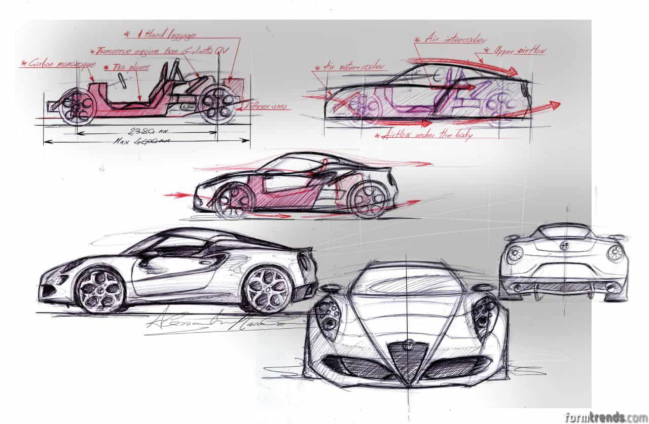 Design Story: Diving Into The Creation Of The Alfa Romeo 4C