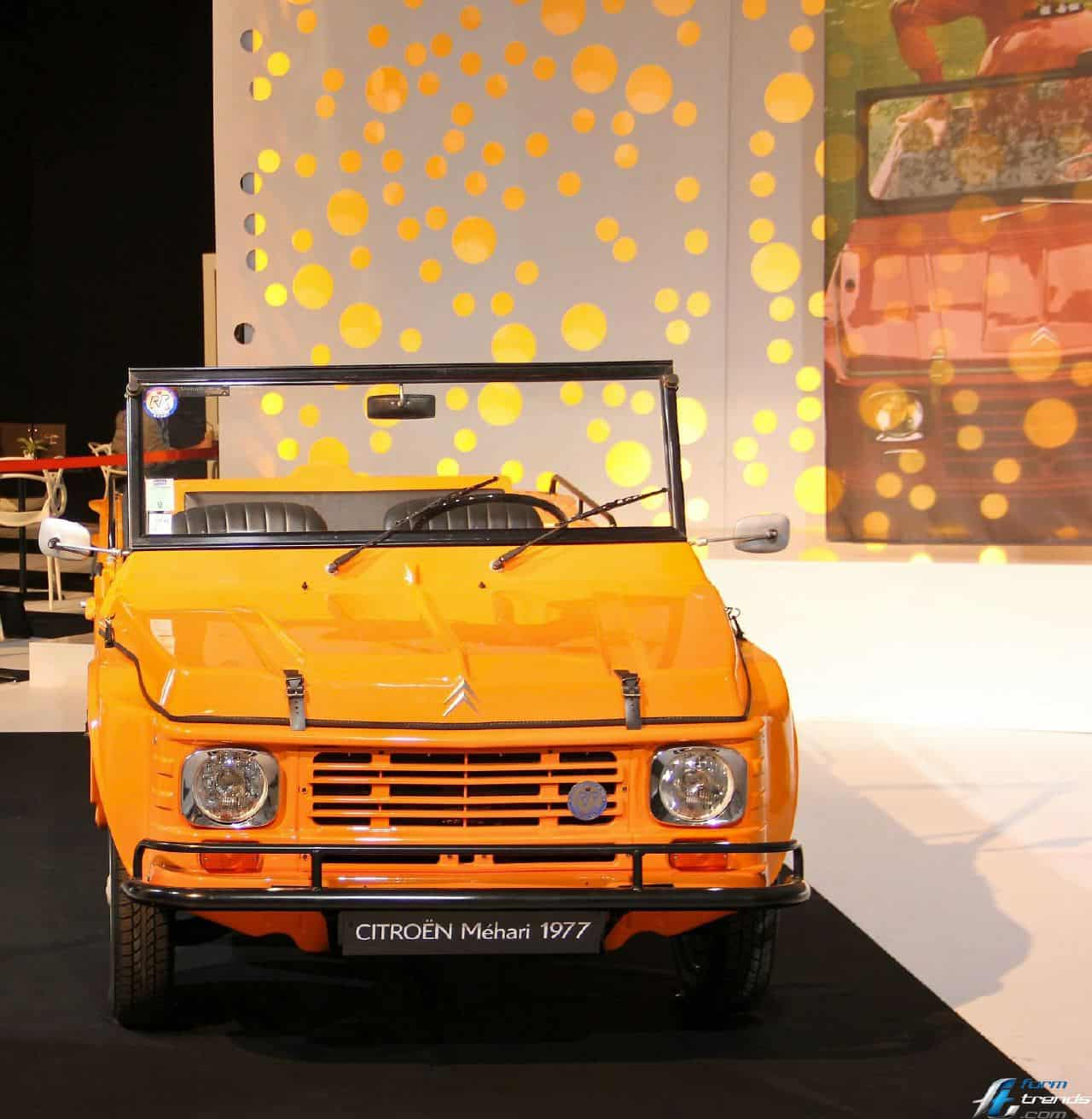 Lautomobile Et La Mode Exhibition Head Lamp Colt 120 Ss Citroen Mehari 1977