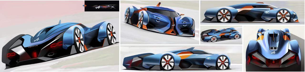 Alpine Presents Vision Gran Turismo Concept
