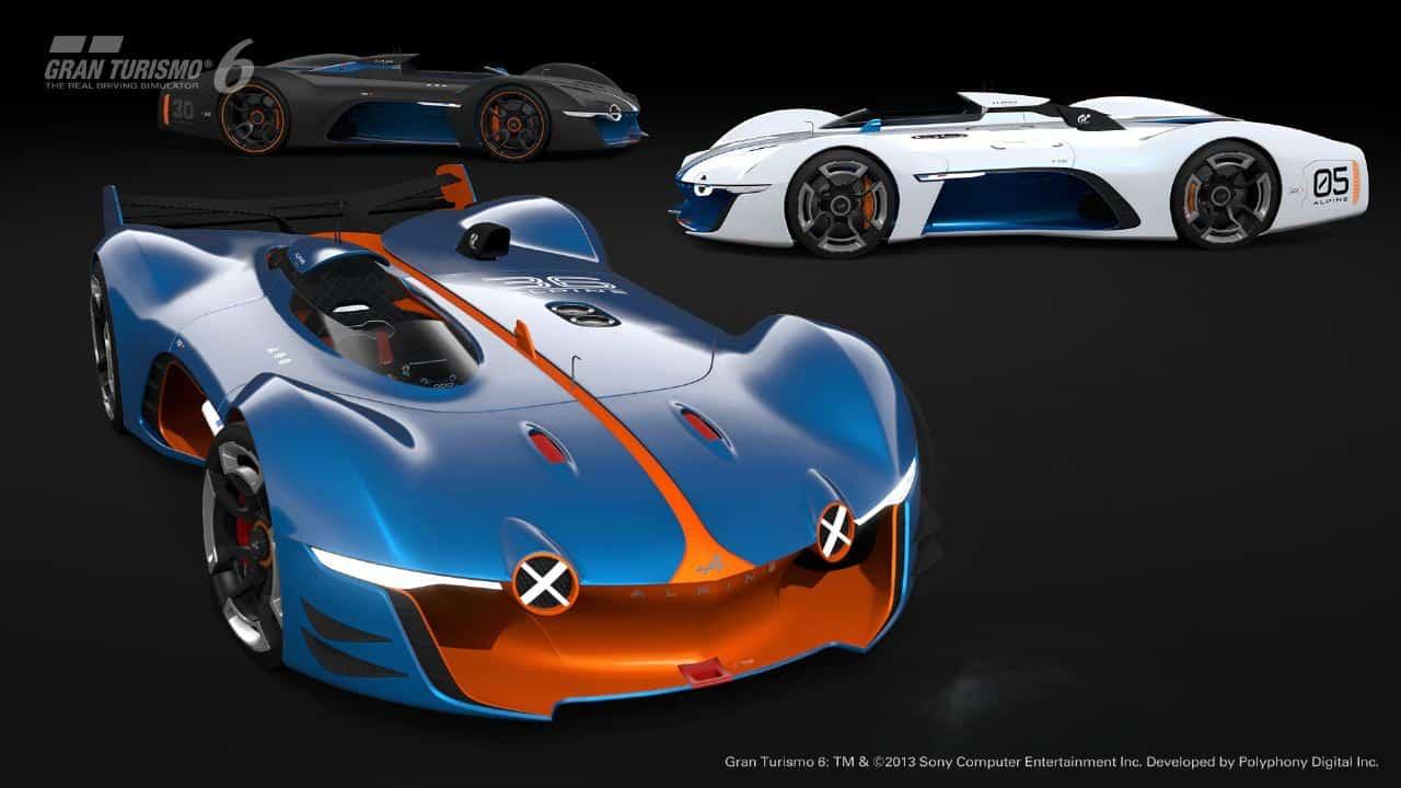 Alpine Presents Vision Gran Turismo Concept on mitsubishi gt vision, renault alpine gt vision, subaru viziv gt vision, bmw gt vision,