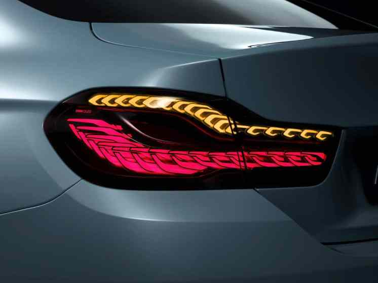 BMW Lights Up CES with M4 Concept Iconic Lights
