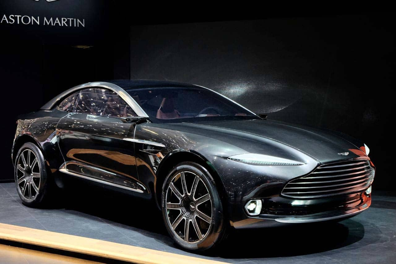 Aston Martin DBX Concept Blending SUV Attributes With GT Luxury - Aston martin concept