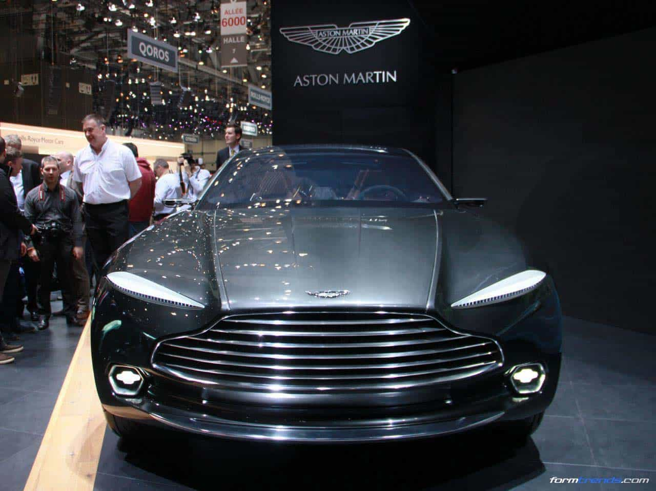 Aston Martin Dbx Concept Blending Suv Attributes With Gt Luxury