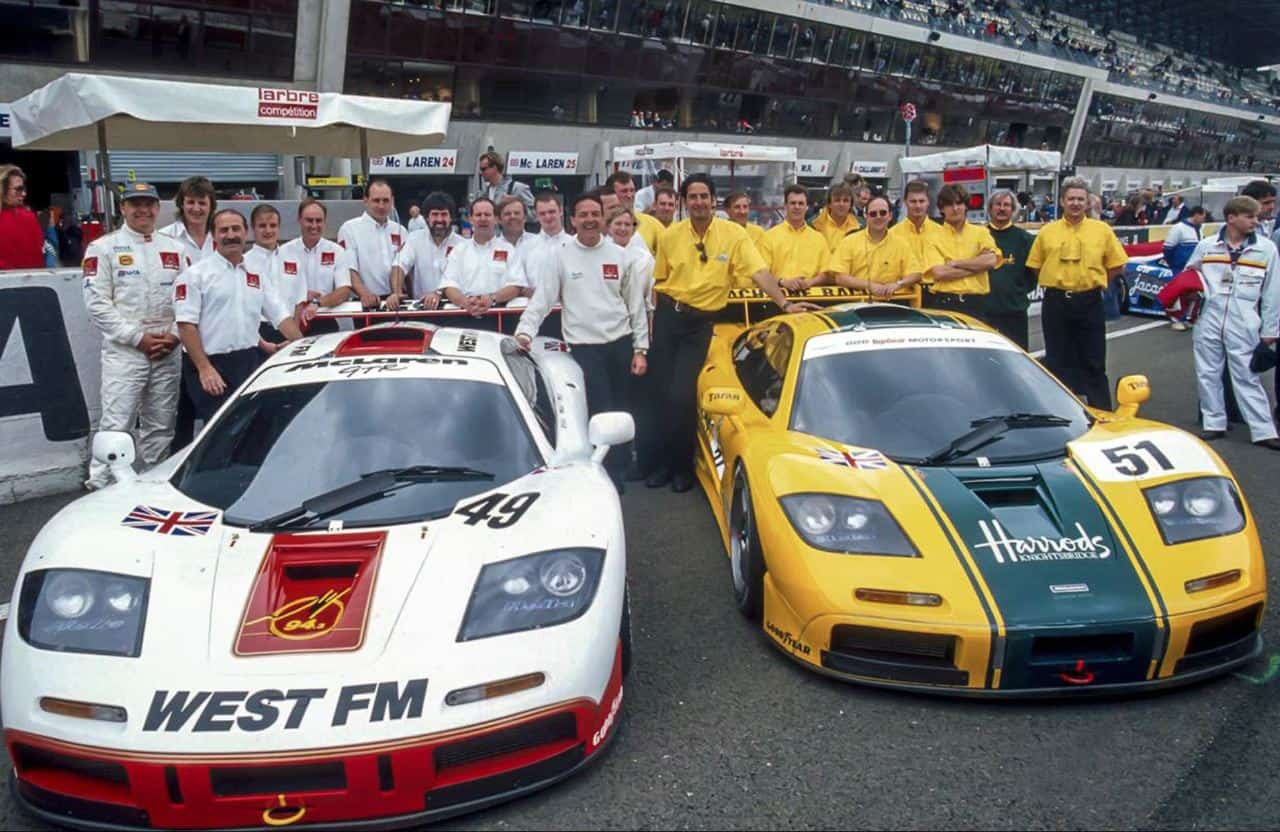 peter stevens reflects on the 1995 lemans race with mclaren