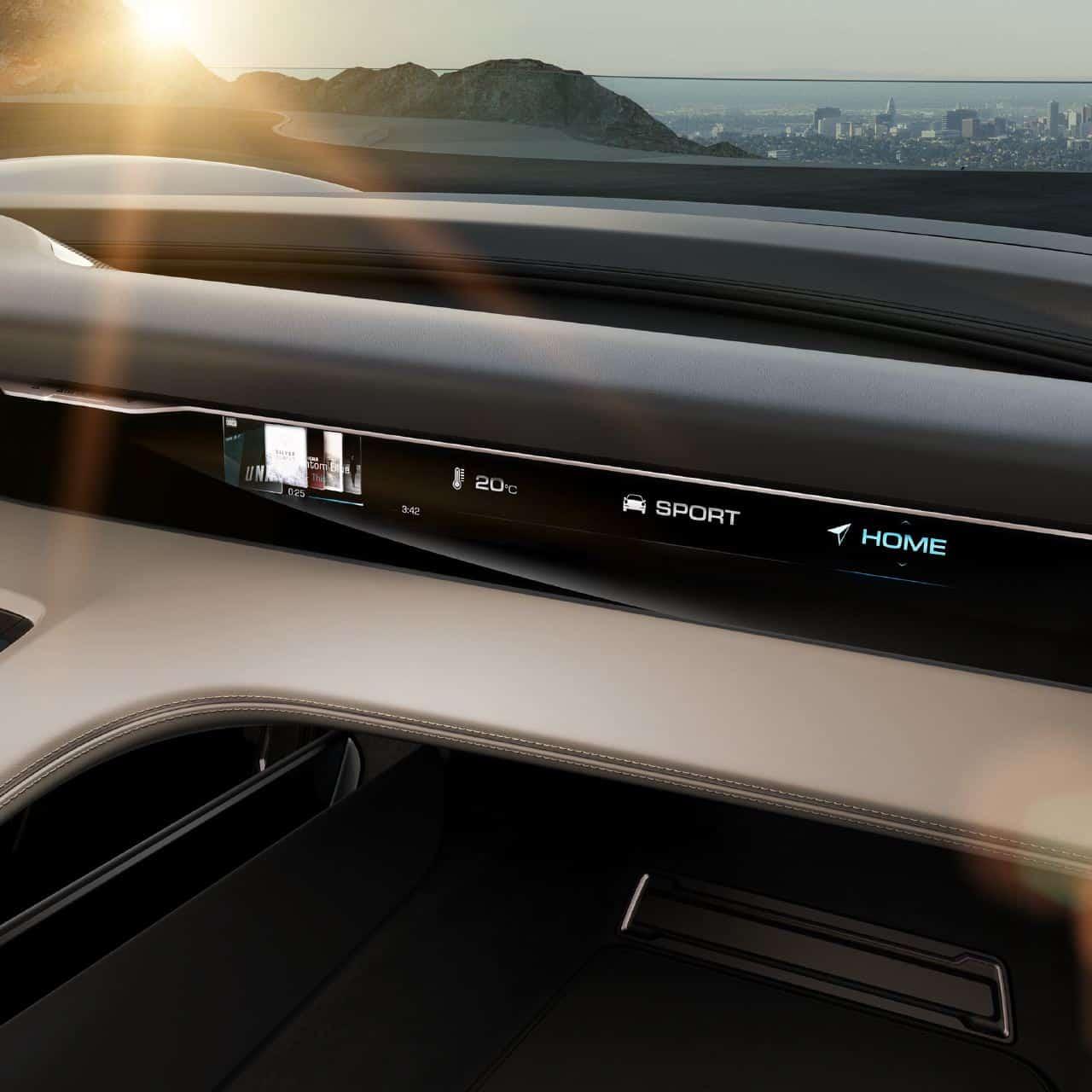 Porsche Mission E Concept Showcases Brands Electric Intent