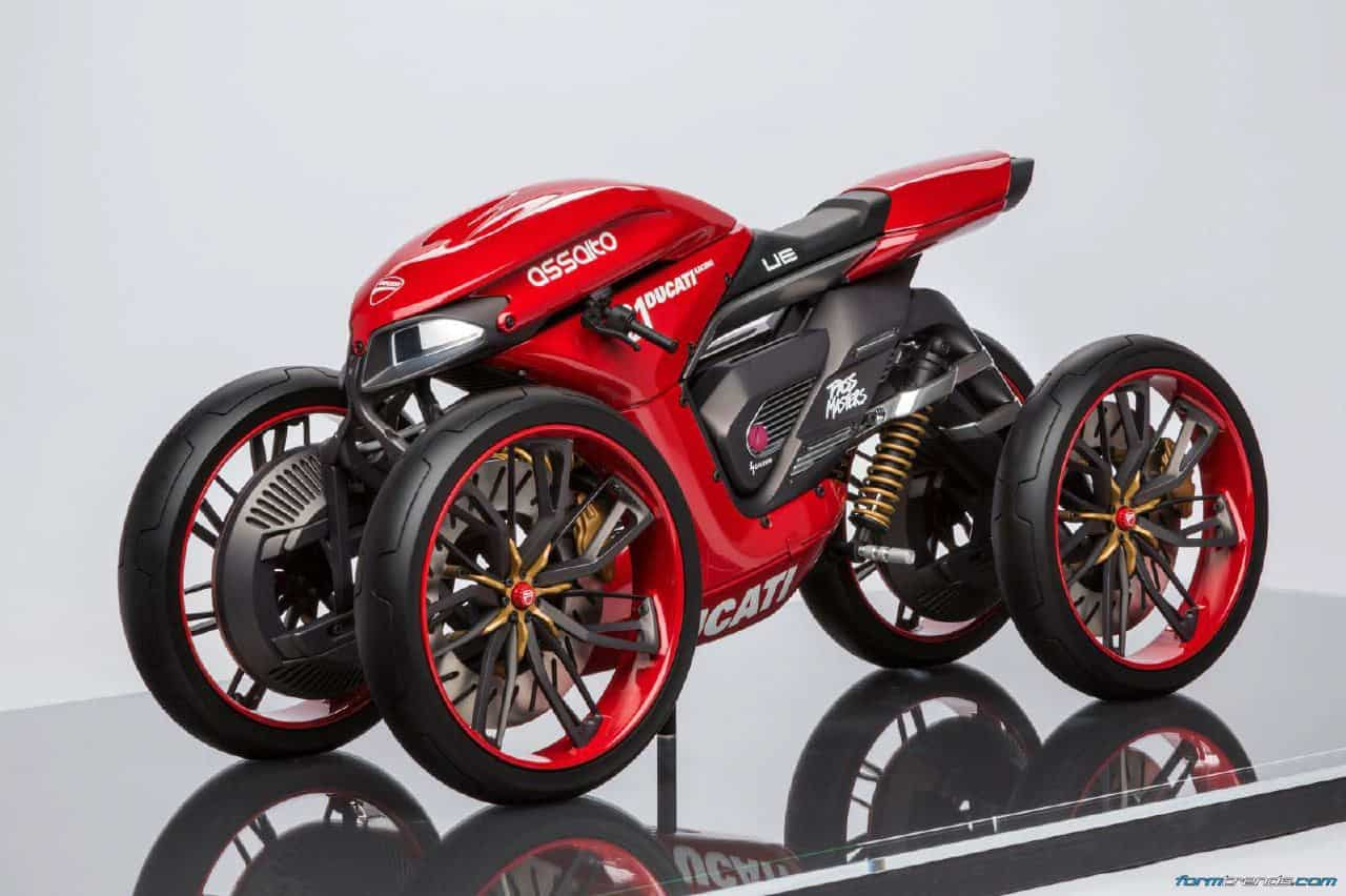 munich s university of applied sciences imagines the four wheeled ducati. Black Bedroom Furniture Sets. Home Design Ideas