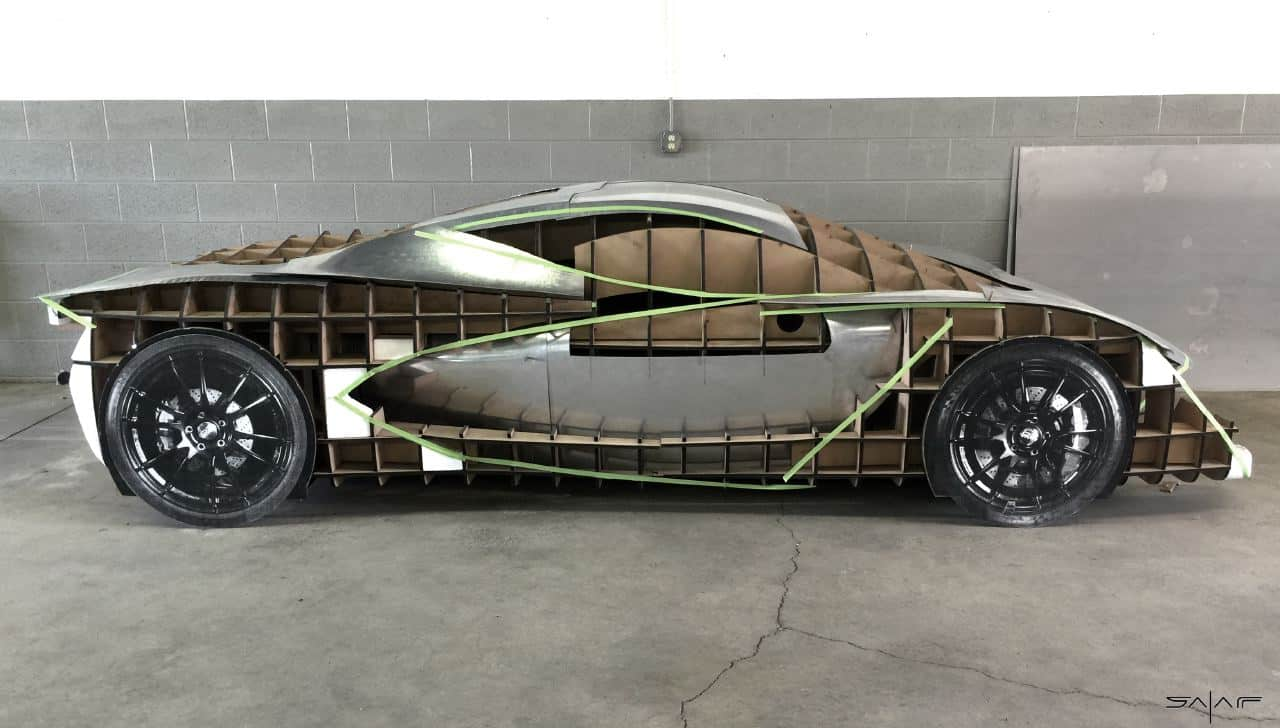 Designer Follows Passions And Dreams To Build His Own Supercar