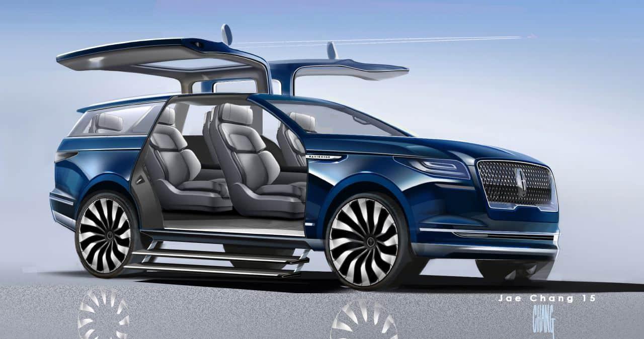 Lincoln Navigator Concept A Very Spectacular Teaser