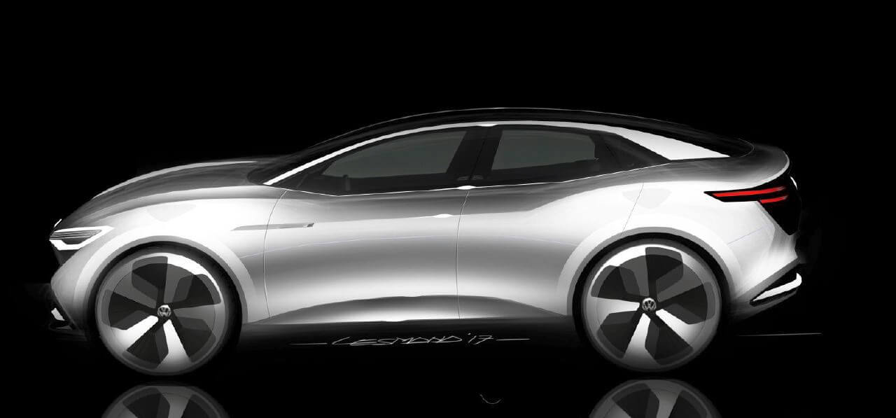 Volkswagen Id Crozz Concept Previews Third Member Of Electric Family