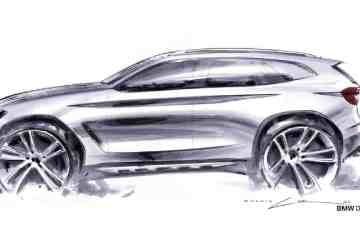 BMW X3 (2018) exterior sketch by Calvin Luk