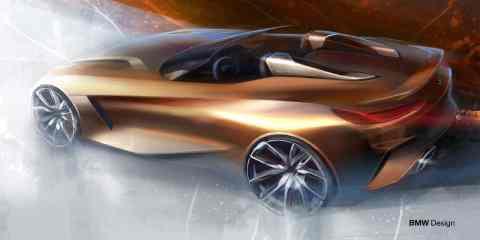 BMW Concept Z4 exterior sketch by Calvin Luk