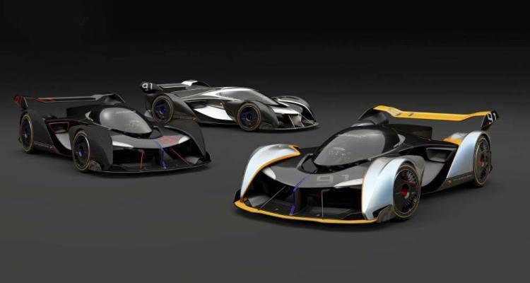 McLaren Ultimate Vision Gran Turismo rendering by Alex Alexiev