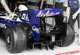 Williams FW31 diffuser
