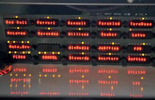 radio control in race control room