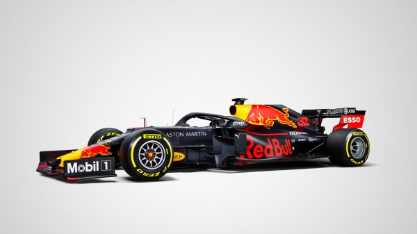 Red Bull RB15 F1 car livery release at Barcelona winter ...