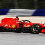 Ferrari Is Like A Different Car On High Fuel After New Upgrades Says Vettel Formula 1