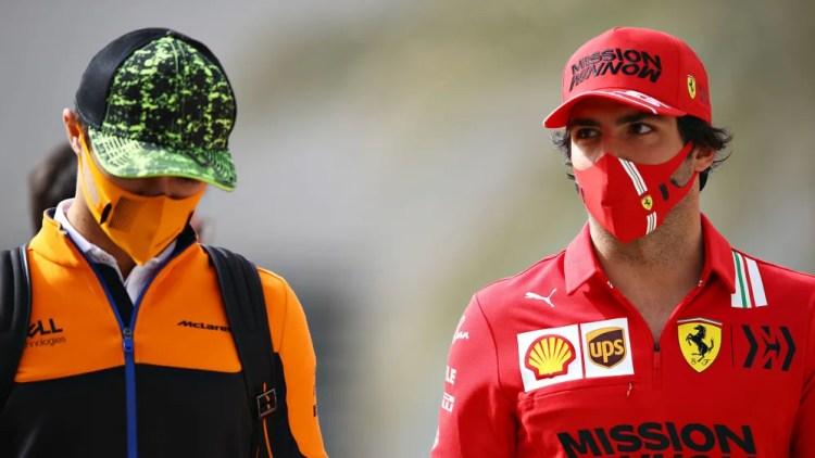 Norris tips former team mate Sainz for potential Monaco win as Ferrari top  Thursday practice | Formula 1®