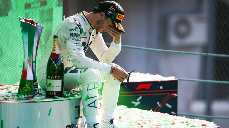 IN PICTURES: The best shots of Pierre Gasly's historic maiden victory in  Monza | Formula 1®