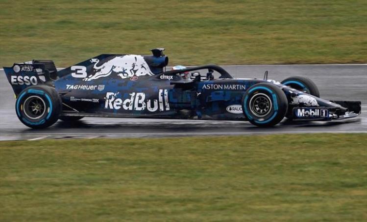 Red Bull, mimetizzata tra le novità - 2018 - Formula1.it