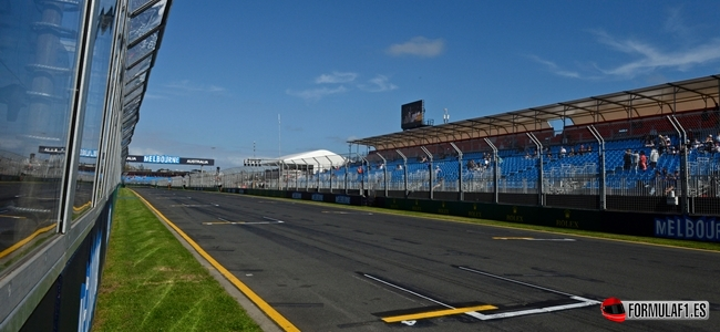 Melbourne, Albert Park, F1