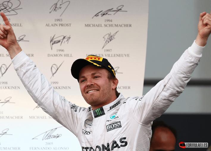 Rosberg consigue la victoria del GP de Europa 2016