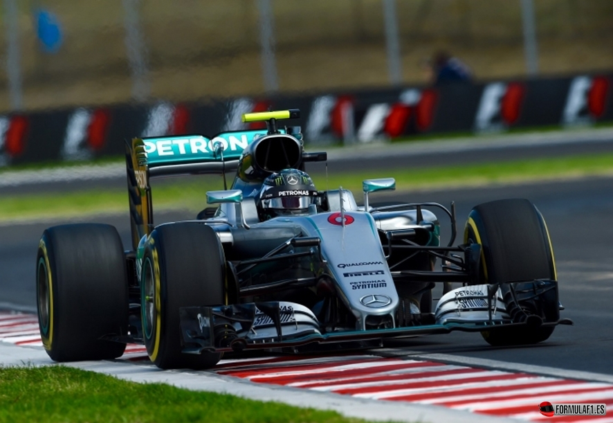 Rosberg budapest fp2