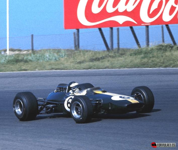 Jim Clark. GP Holanda 1966
