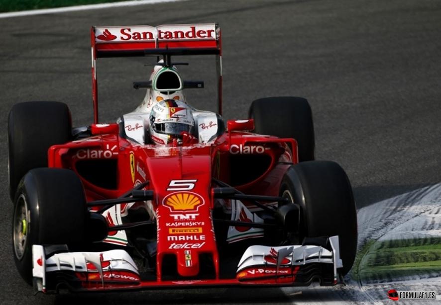 Vettel monza fp2