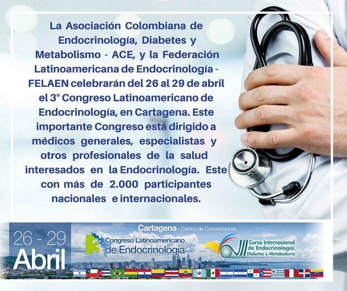 Congreso Latinoamericano de Endocrinologia - Formula Medica