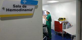Servicio de hemodinamia en la USS Simon Bolivar - Formula Medica