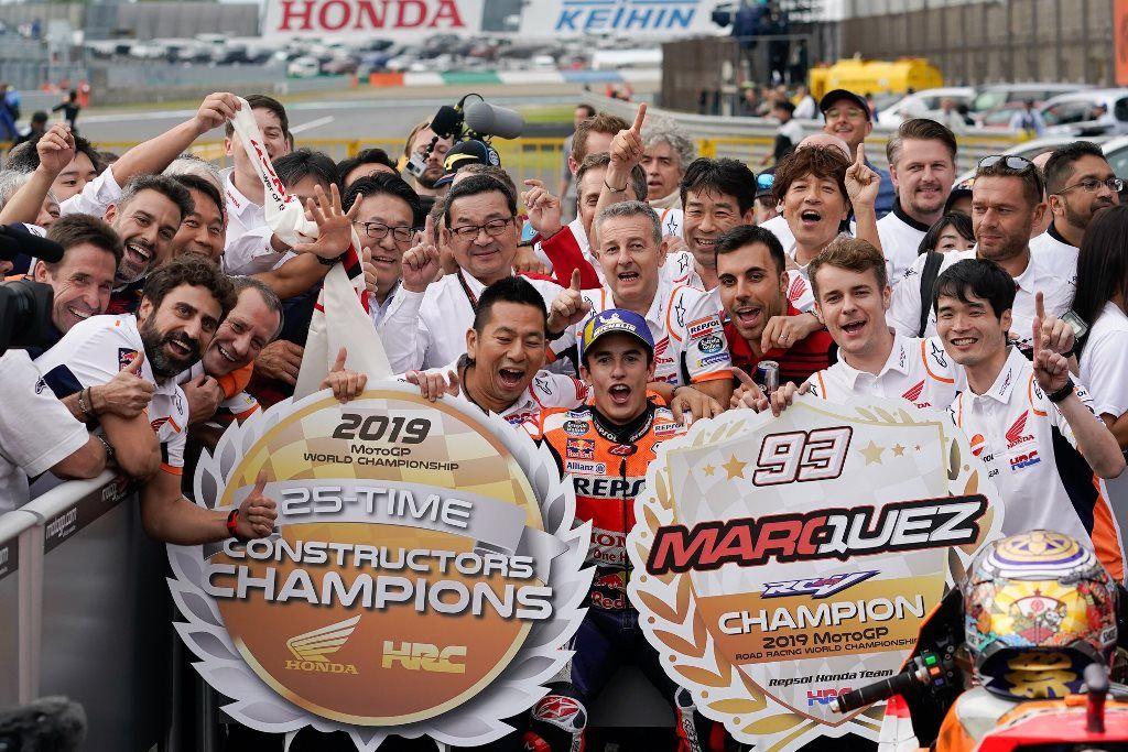 Motegi: El décimo triunfo de Márquez del año en casa