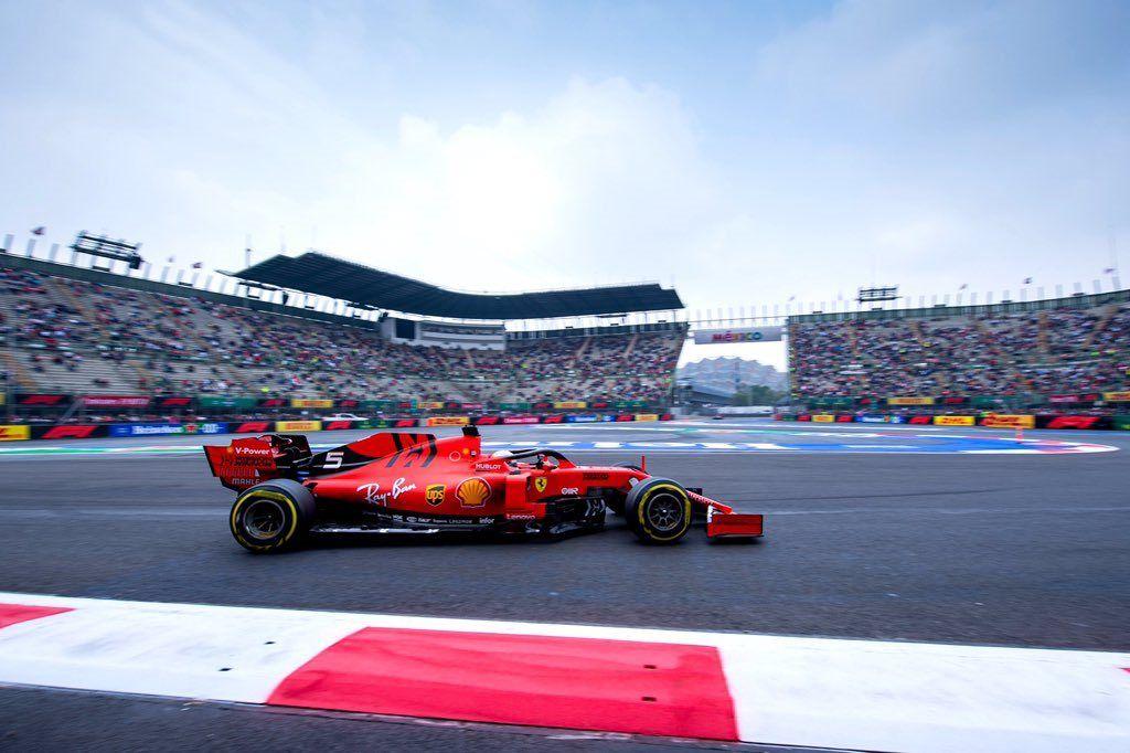 Ferrari se apunta como favorito a la pole en el GP de México