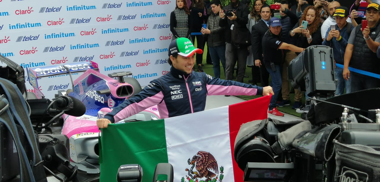 "Sergio Pérez: ""Me gustaría tener a más pilotos mexicanos en Fórmula 1"""