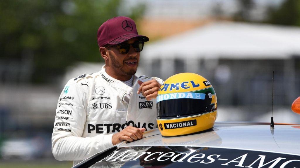 """Lewis Hamilton sobre Ayrton Senna: """"Me hubiese gustado ser su compañero de equipo"""""""