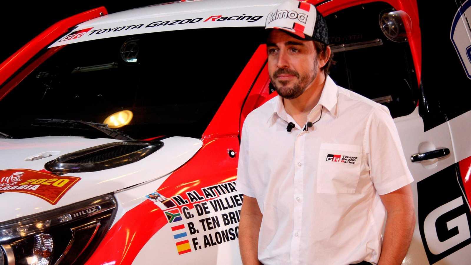 """Fernando Alonso: """"El Dakar será el desafío más grande de mi carrera"""""""