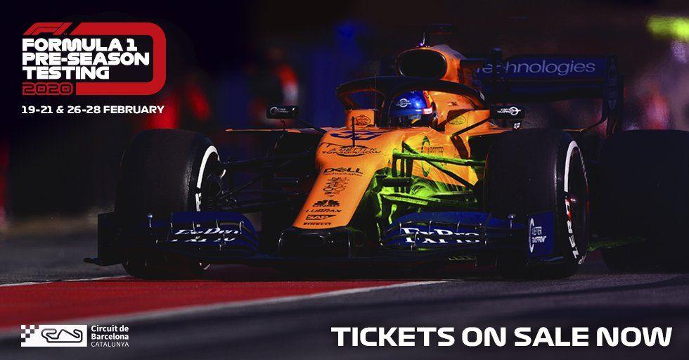 El circuit de Barcelona-Catalunya saca a las entradas para la pretemporada 2020
