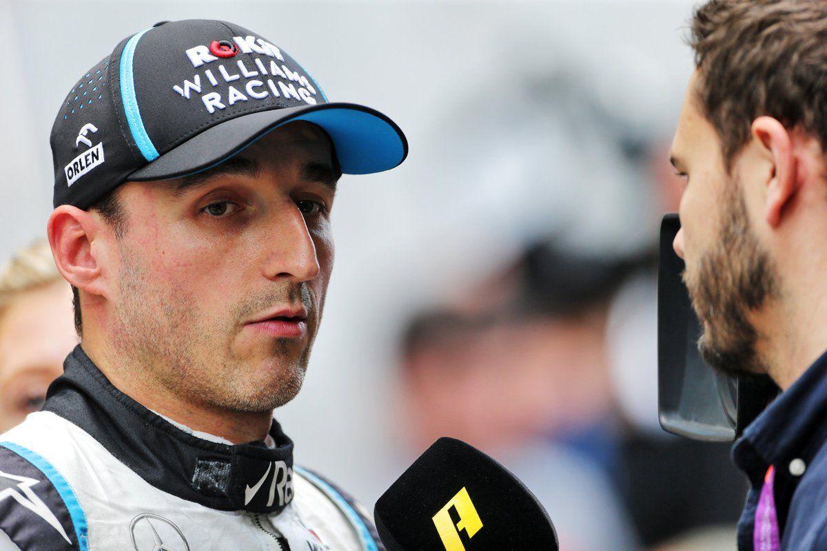 """Robert Kubica: """"Será mi último Gran Premio con Williams, por lo que me gustaría armar todo para acabar de la mejor manera con el equipo"""""""
